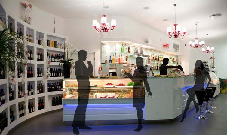 Arredo bar arredamento per bar banconi bar for Usato bancone bar